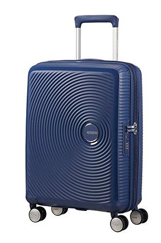 American Tourister Equipaje de mano, 55 cm, 35.5 liters, Azul