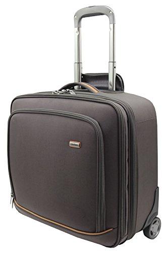 Melvin Xtra Lite 70/cm funda Spinner maletas mediana 57L o grandes 86L ligero 360° con mangos telescópicos casos cartucho para carrito de maletas con ruedas resistente carcasa rígida con forro de 4ruedas TSA Locks Antracita, marrón oscuro (Marrón) - 125-004