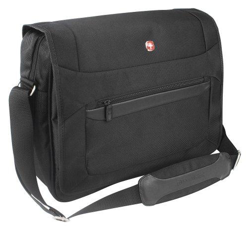 "Wenger W73012292 Business Basic - Maleta profesional con compartimento para portátil (16"", 24 L), color negro"