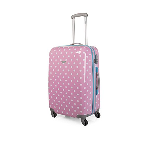 SKPA T - 66460 TROLLEY MEDIANO POLICARBONATO, Color Rosa