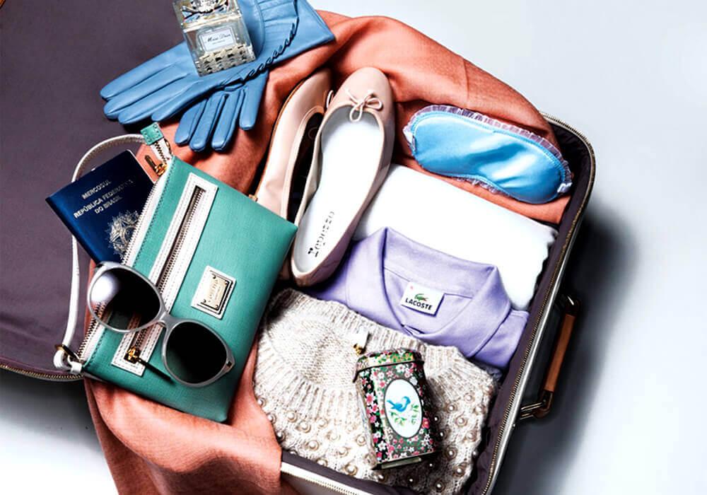 ahorrar espacio en una maleta
